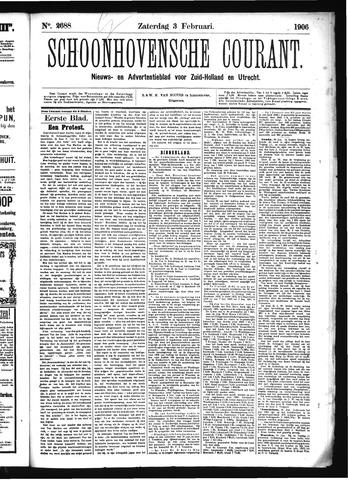 Schoonhovensche Courant 1906-02-03