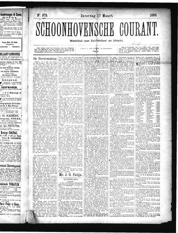 Schoonhovensche Courant 1888-03-17