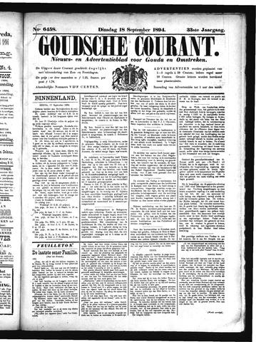 Goudsche Courant 1894-09-18
