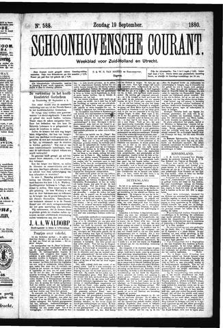 Schoonhovensche Courant 1880-09-19