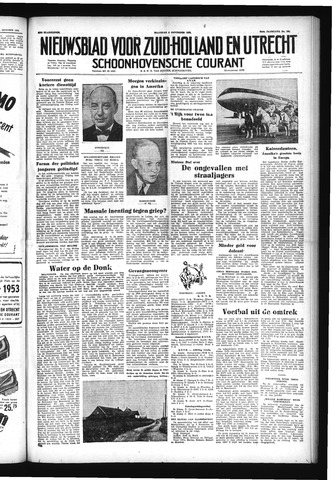 Schoonhovensche Courant 1952-11-03