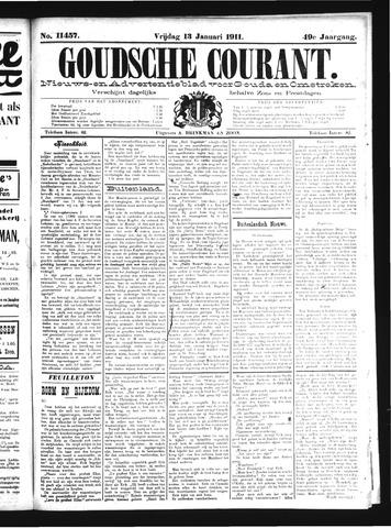 Goudsche Courant 1911-01-13