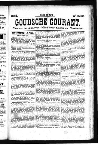 Goudsche Courant 1882-04-30