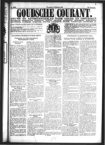 Goudsche Courant 1940-02-14