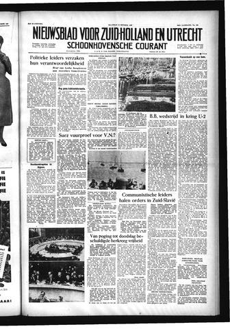 Schoonhovensche Courant 1956-10-15