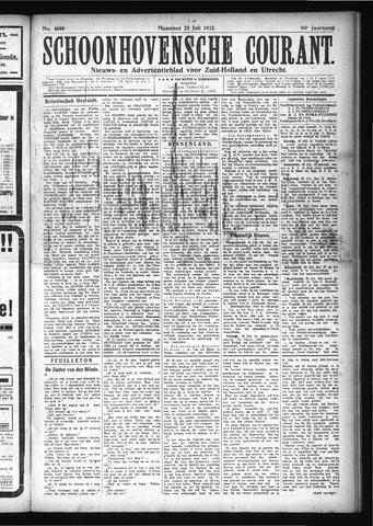 Schoonhovensche Courant 1923-07-23