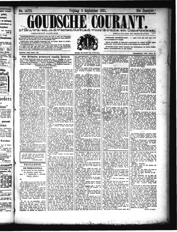 Goudsche Courant 1921-09-09