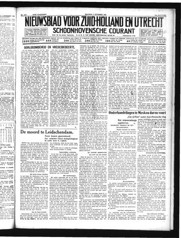 Schoonhovensche Courant 1939-11-06