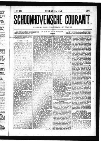 Schoonhovensche Courant 1877-07-08