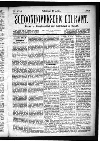 Schoonhovensche Courant 1910-04-23