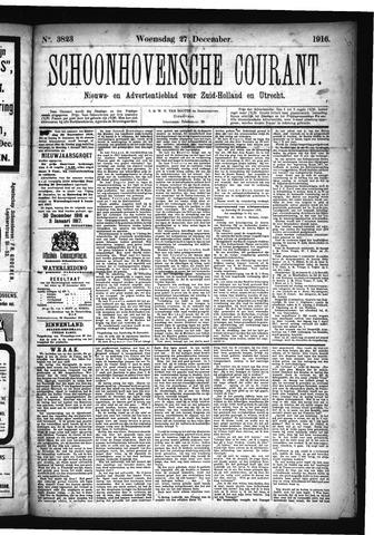 Schoonhovensche Courant 1916-12-27
