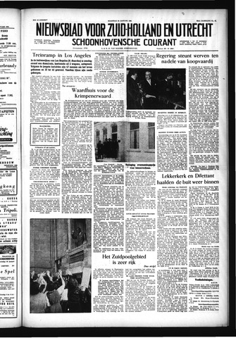 Schoonhovensche Courant 1956-01-23