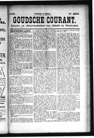 Goudsche Courant 1888-01-18
