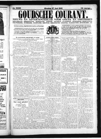 Goudsche Courant 1933-06-27
