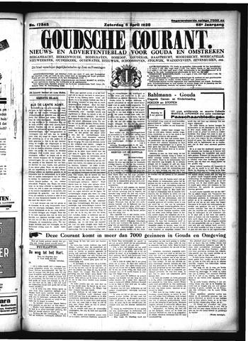 Goudsche Courant 1930-04-05
