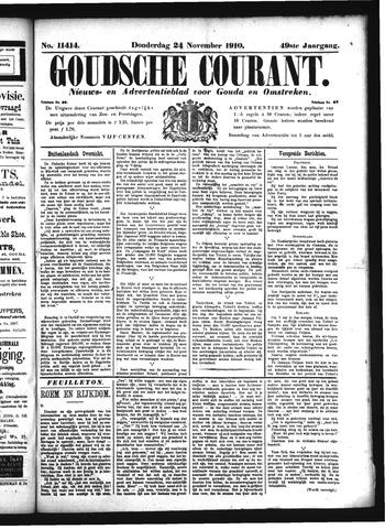 Goudsche Courant 1910-11-24