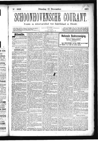 Schoonhovensche Courant 1917-12-11