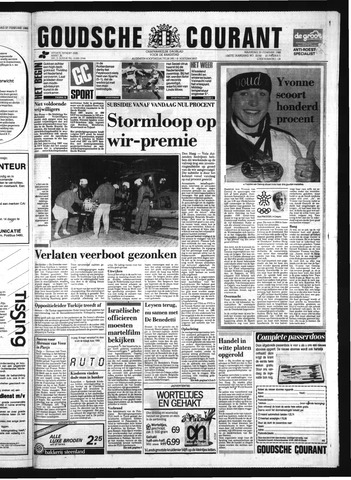Goudsche Courant 1988-02-29