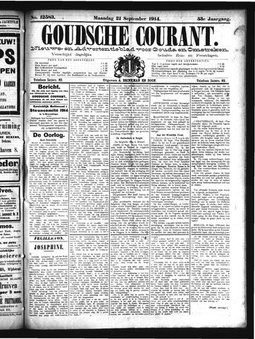 Goudsche Courant 1914-09-21