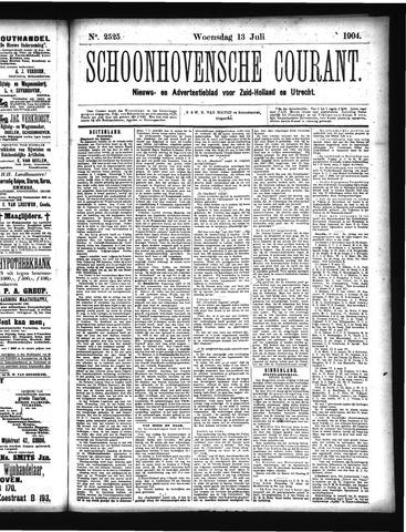 Schoonhovensche Courant 1904-07-13