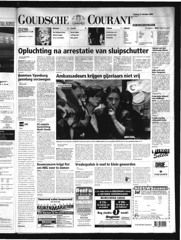Goudsche Courant 2002-10-25