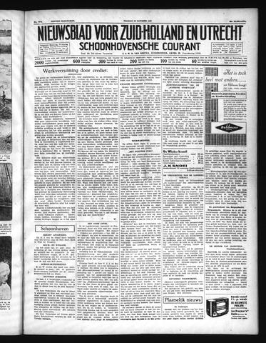 Schoonhovensche Courant 1937-10-22