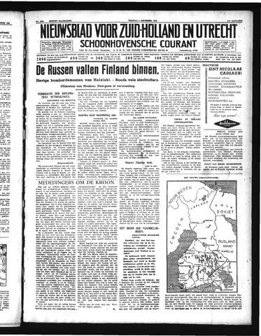 Schoonhovensche Courant 1939-12-01