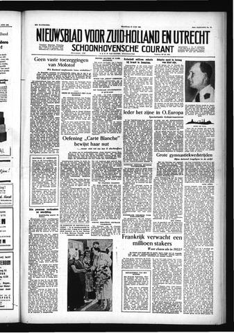 Schoonhovensche Courant 1955-06-27