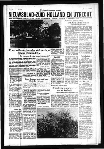 Schoonhovensche Courant 1968-05-01