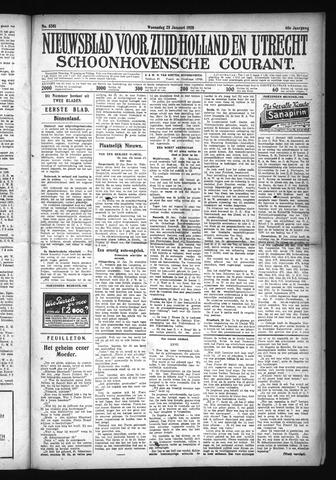Schoonhovensche Courant 1928-01-25