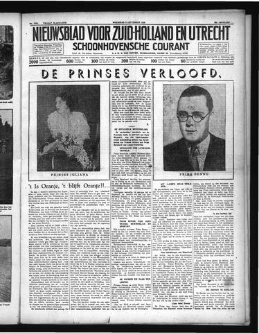 Schoonhovensche Courant 1936-09-09
