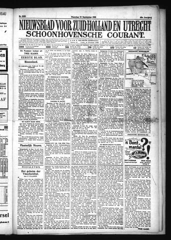 Schoonhovensche Courant 1928-09-24