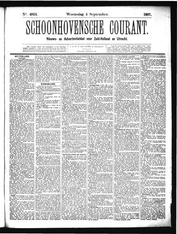 Schoonhovensche Courant 1907-09-04