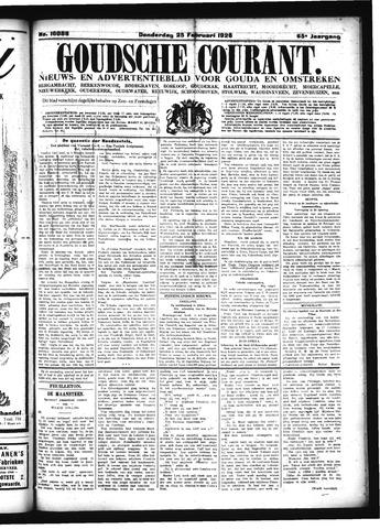 Goudsche Courant 1926-02-25