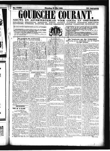 Goudsche Courant 1931-05-19