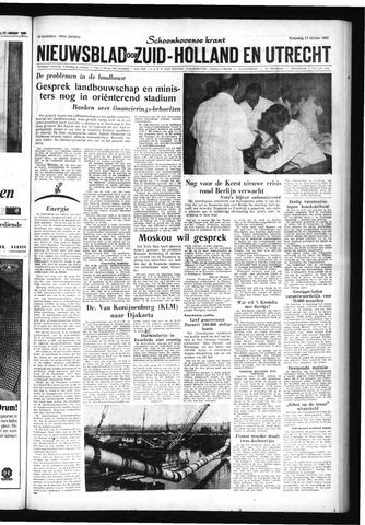 Schoonhovensche Courant 1962-10-17