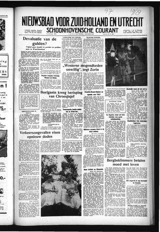 Schoonhovensche Courant 1957-08-19