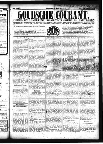 Goudsche Courant 1927-05-31