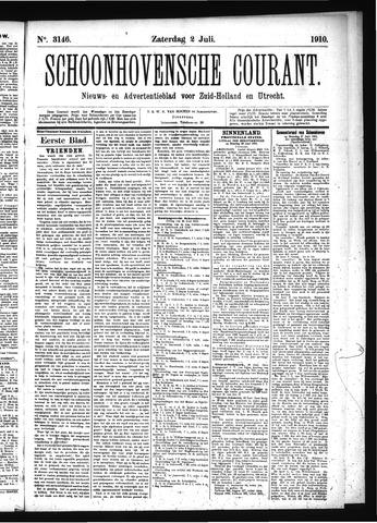 Schoonhovensche Courant 1910-07-02
