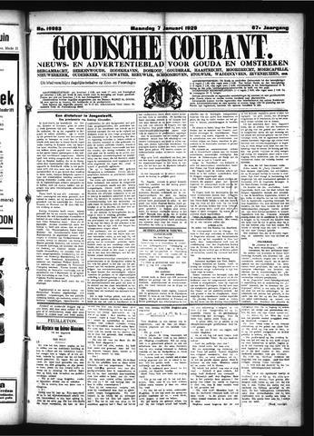 Goudsche Courant 1929-01-07