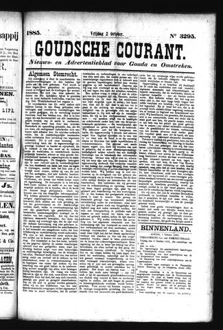 Goudsche Courant 1885-10-02