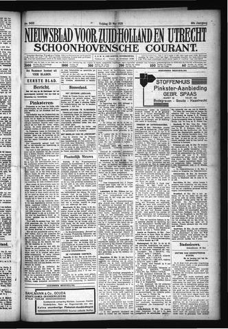 Schoonhovensche Courant 1928-05-25