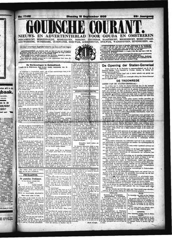 Goudsche Courant 1930-09-16
