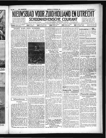 Schoonhovensche Courant 1937-11-17