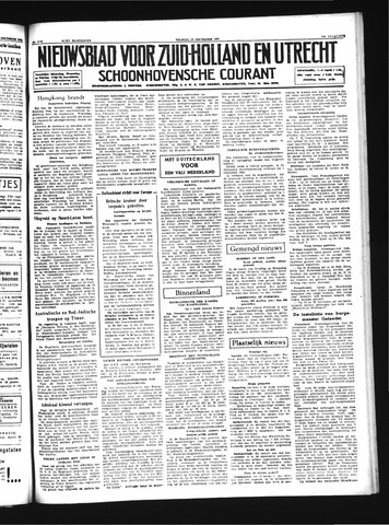 Schoonhovensche Courant 1941-12-19