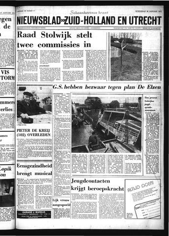 Schoonhovensche Courant 1975-01-29