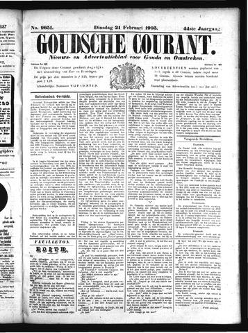 Goudsche Courant 1905-02-21