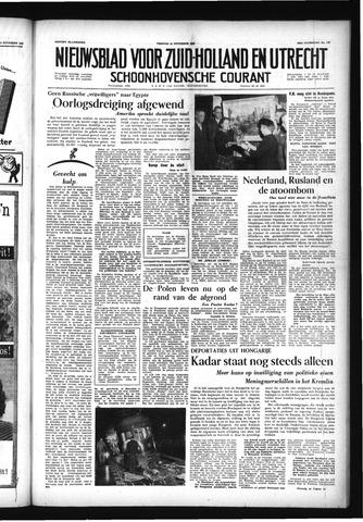 Schoonhovensche Courant 1956-11-16