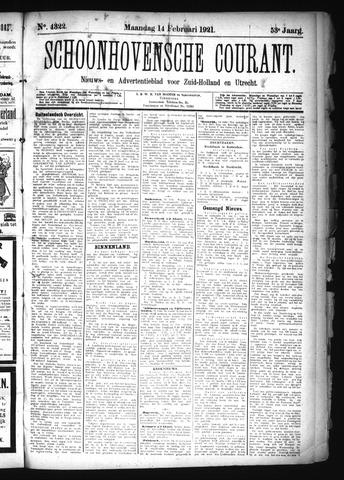 Schoonhovensche Courant 1921-02-14