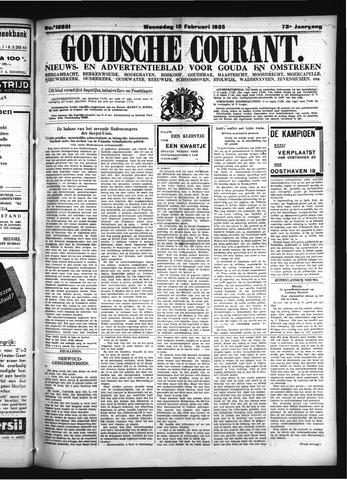 Goudsche Courant 1935-02-13